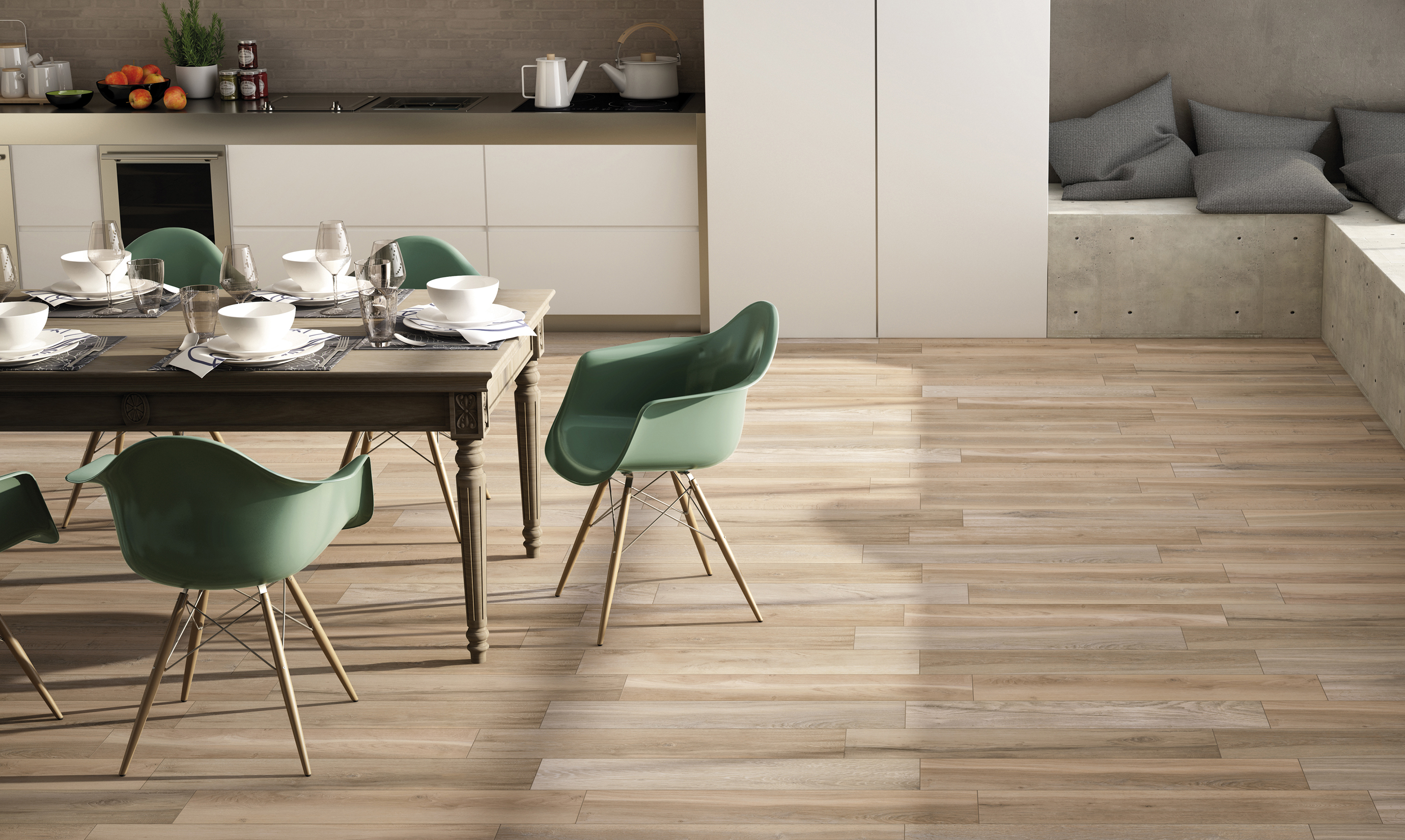 Sherwood century ceramica for Carrelage living
